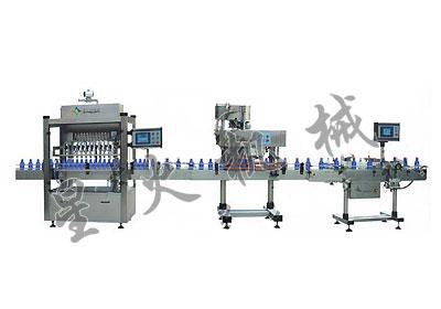 直列式膏体包装生产线