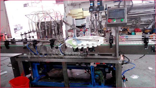 药品喷雾剂灌装生产线,气雾剂自动化生产线