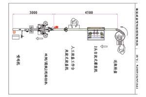 双头自流式灌装旋盖喷码贴标生产线
