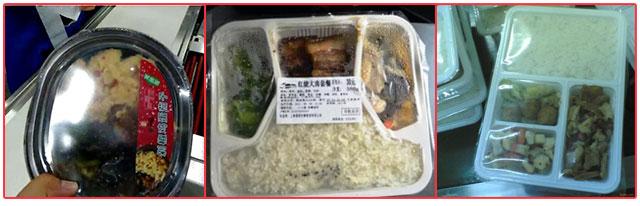星火快餐盒饭热收缩ysb88手机版包装样品展示