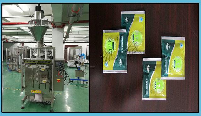 星火厂房全自动中药粉剂ysb88手机版设备及包装样品展示